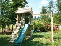 Backyard Play Forts by Playset Kits Love The Tube And The Rings Outside Pinterest