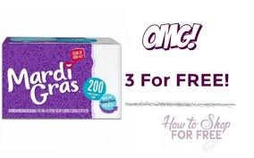 mardi gras napkins update free mardi gras napkins 200 ct how to shop for free with