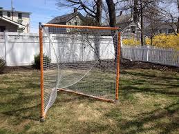 diy lacrosse goal build your own heavy duty portable lacrosse net simplified building