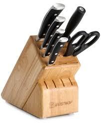 Wüsthof Classic Ikon 7 Piece Cutlery Set Cutlery U0026 Knives