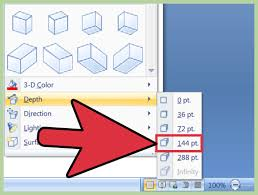 3 ways to create a 3d object in microsoft word wikihow