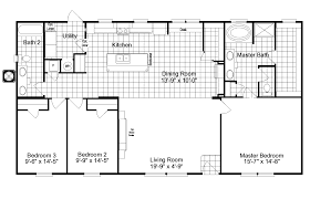 4 Bedroom Home Floor Plans The Kensington Ml28563k Manufactured Home Floor Plan Or Modular