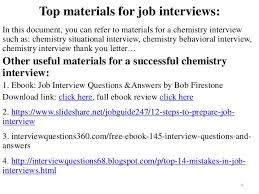 biography interview questions for high school students 80 chemistry interview questions with answers
