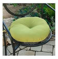 Sunbrella Bistro Chair Cushions Navy Blue 17 Inch Round Indoor Outdoor Bistro Chair Cushion Set