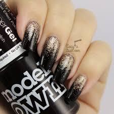 autumn glitter gradient nail art with tutorial lucy u0027s stash