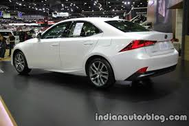 lexus is300h wheel size lexus is 300h rear three quarters at 2016 thai motor expo indian