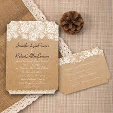 burlap and lace wedding invitations affordable burlap wedding invitations at wedding invites
