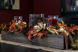 diy thanksgiving wooden centerpiece box