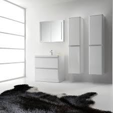 36 White Bathroom Vanity by Eviva Glazzy 36