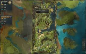 map of arbor twilight arbor waypoint guild wars 2