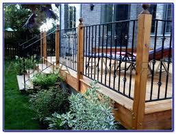 Ideas For Deck Handrail Designs Metal Deck Railing Porch Railings Metal Deck Railing Ideas Be