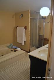 almond bathroom fixtures a make do bathroom makeover like
