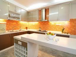 modern orange kitchens kitchen design ideas blog inside orange