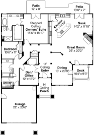 Cottage Plans With Garage Patio Home Designs New At Simple Modern Two Bedroom House Plans