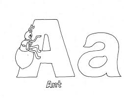 Printable Letter A Coloring Pages Coloringstar A Coloring