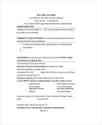 Business Resume Example by Best Business Resume 30 Free Word Pdf Document Download Free