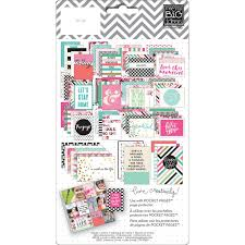 Pocket Pages Me U0026 My Big Ideas Peony Love Pocket Pages Themed Cards Tpc 36
