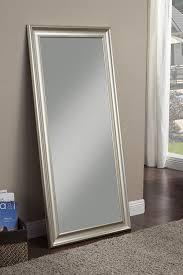 amazon com sandberg furniture champagne silver full length leaner
