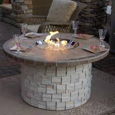 Custom Gas Fire Pits - charleston outdoor gas fire pit by agio