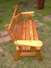 Bench Made From 2x4 Comfortable Strong 2x4 Sitting Bench Free Plans