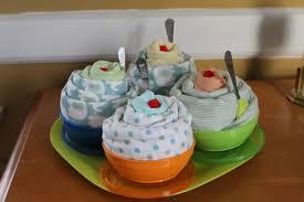 the little things ice cream sundae baby shower gift