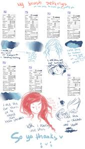paint tool sai crayon settings by ayashige doodles on deviantart
