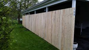 solid dog ear privacy wood fence panel pricing hoover fence co