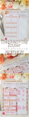 thanksgiving thanksgiving menu planning template planner and