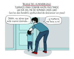 mama dormida mientras que su hijo se la coge imperdible 10 ilustraciones sobre la vida en pareja después de
