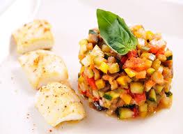 mirepoix cuisine recette ratatouille en mirepoix et encornets sautés plats
