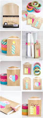 diy projects washi tape diy small gift bags great art and craft
