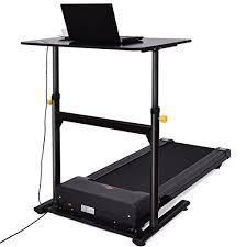 Computer Desk Treadmill Goplus Treadmill Desk Standing Walking Treadmill Electric Machine