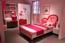 most beautiful bedrooms for girls red home combo