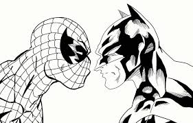 spectacular spider man coloring pages kids coloring