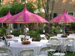 Summer Garden Party Ideas - images of beautiful party tables party decoration