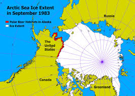 Map Of Russia And Alaska by What Makes The Polar Bears In Alaska Homeless U2013 G I S Is Global