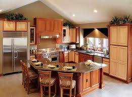 best kitchen layouts with island dining room kraftmaid cabinets and stainless countertop plus best