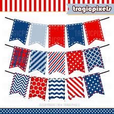 American Flag Header American Flag Bunting Clipart Clip Art Library