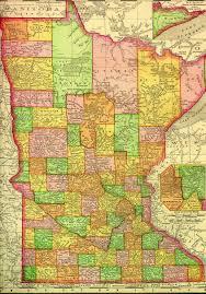 Map Minnesota Lake County Minnesota Map