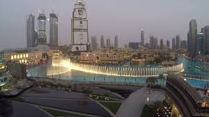 dubai fountain show from suite armani hotel time to say goodbye