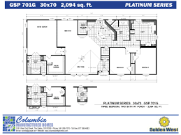 columbia manufactured homes golden west platinum series floorplans golden west homes platinum series
