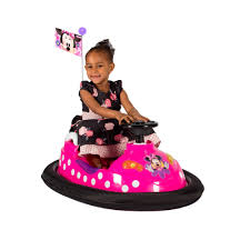disney minnie mouse bumper car 99 00 hamleys disney