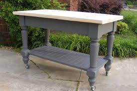 kitchen islands furniture gray painted pine kitchen island which equipped with single bottom