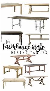 farm style dining room table 10 farmhouse style dining tables rooms for rent blog