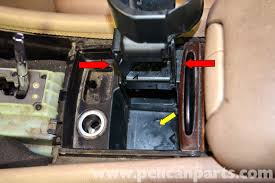 mercedes benz w203 lower center console removal 2001 2007 c230