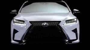 lexus rx 450h nouveau lexus rx design with gen ikeda youtube