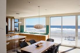 Beach Cottage Kitchen by Contemporary Beach House Beach Style Kitchen San Francisco