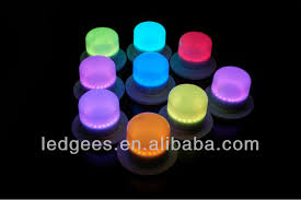 Small Battery Operated Led Lights Induction Charge Waterproof Rgb Wireless Remote Control Led Light