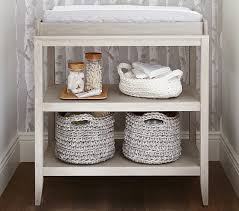 Changing Table Basket Emerson Changing Table Pottery Barn