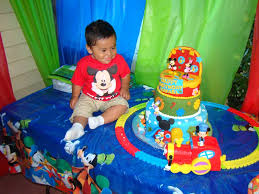 mickey mouse clubhouse birthday party ideas photo 9 of 22